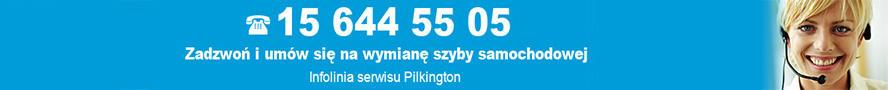 Infolinia serwisu Pilkington