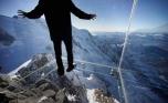 Szkło marki Pilkington na alpejskim szczycie